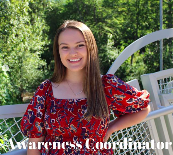 Headshot of of Hailey Palm, Awareness Coordinator for DSAAC